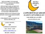 Campamentos de verano 2017 Escuela Infantil Lua
